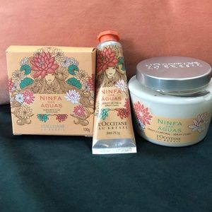 L'Occitane Nina das Aguas soap lotion set